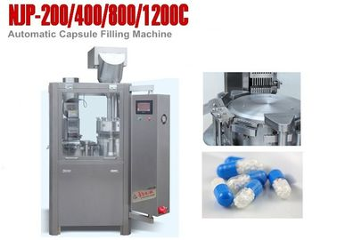 ประเทศจีน Oil Free Vacuum Pump Hard Capsule Filling Machines Fully Automatic Capsule Filler ผู้จัดจำหน่าย